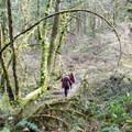 Ridgeline Trail is a very popular spot for hikers.- Ridgeline Trail System: Martin Street Trailhead to Fox Hollow Trailhead