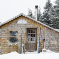 The Saint-Joseph shelter has character, but is nowhere near as nice as the other shelters.- Three Summits Loop