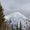 A closer look at Hahns Peak.- Hahns Peak Lake Area