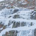 Plenty of ice at Lee Vining.- Lee Vining Ice Climbing Area