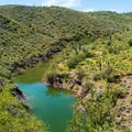 Lake Pleasant from above.- Pipeline Canyon Trail