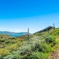 Open views along the Yavapai Point Trail.- Yavapai Point Trail