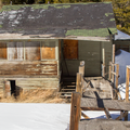 A remaining cabin at the East Portal Trailhead.- Crater Lakes via East Portal Trailhead