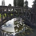 Beautiful stone bridges may have been structurally sound decades ago.- Petersen Rock Garden
