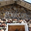The museum contains rocks and gems that are too precious to leave outside.- Petersen Rock Garden