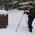 The Sasquatch Trailhead sign.- Sasquatch Ski Trail