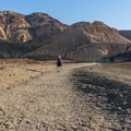Entering the Desolation Canyon in Death Valley National Park.- Desolation Canyon Hike