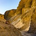 Beautiful colored canyon walls.- Desolation Canyon Hike