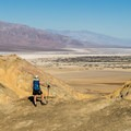 Looking down on Death Valley.- Desolation Canyon Hike