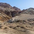 Hills above Desolation Canyon in Death Valley National Park.- Desolation Canyon Hike