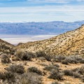 Death Valley below.- Chloride City