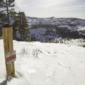 The Donner ridge area has a comprehensive summer trail system as well.- Donner Ridge Area