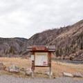 The Bear Trap Canyon Trailhead.- Bear Trap Canyon