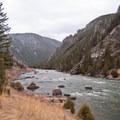 Great canyon views!- Bear Trap Canyon