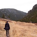 The canyon makes for a great early season hiking.- Bear Trap Canyon