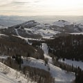Fantastic views on a clear morning at Guardsman Pass.- Guardsman Overlook Snowshoe