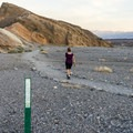 Zabriskie Point Trailhead.- Badlands Loop Hike