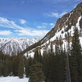 Looking north on the Lower Red Pine Lake Snowshoe.- Lower Red Pine Lake Snowshoe