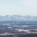 The Catskill Mountains to the northwest.- Skytop Tower Trail