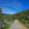 Mountain Quarries Bridge.- Canyon Creek Trail To The Black Hole of Calcutta Falls