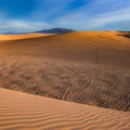 Texture and color at the Amargosa Dunes.- Amargosa Big Dune
