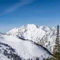 The beautiful Mount Superior.- Mount Tuscarora: The Seagull Chute