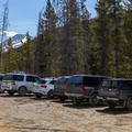 The parking area.- French Gulch