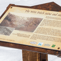Wire Patch Mine information sign.- French Gulch