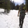 The beginning of the Gulch Trail.- French Gulch
