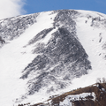 A closer view of Bald Mountain.- French Gulch