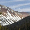 Looking back at French Gulch.- French Gulch