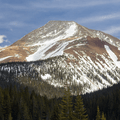 Mount Guyot (13,376 ft).- French Gulch