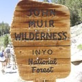Entering the John Muir Wilderness.- Little Lakes Valley