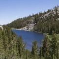 Mack Lake.- Little Lakes Valley
