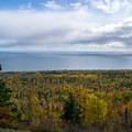 Lake Superior from Oberg Mountain.- Oberg Mountain