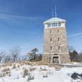 George Perkins Memorial Tower.- Bear Mountain + Perkins Tower