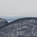 Manhattan skyline to the south.- Bear Mountain + Perkins Tower