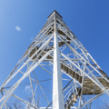 The 90-foot Stissing Fire Tower.- Stissing Fire Tower