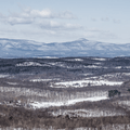 The Catskill Mountains to the west.- Stissing Fire Tower