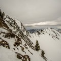 The view near the summit ridge looking at Cardiac Ridge.- Mount Superior Backcountry Skiing