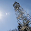 Red Hill fire tower.- Red Hill Fire Tower