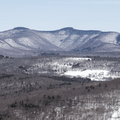 Catskill Mountains to the east.- Red Hill Fire Tower
