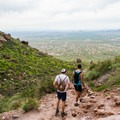 Incredible views from the Siphon Draw Trail.- Flatiron Mountain via Siphon Draw