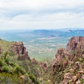 Views from the Siphon Draw Trail.- Flatiron Mountain via Siphon Draw