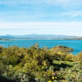 Lake Pleasant from Roadrunner Campground.- Roadrunner Campground