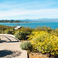 The Nature Center Amphitheater offers fantastic views of Lake Pleasant.- Roadrunner Campground