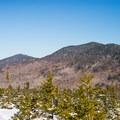 Looking northeast at the Worcester Range.- Stowe Pinnacle