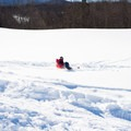 The hill is ungroomed and often full of powder.- Casey's Hill