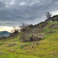 Gentle grades through rolling hills on the hike to Black Butte.- Orland Buttes: Black Butte