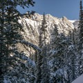 The BCC/LCC ridge.- Red Baldy Backcountry Skiing